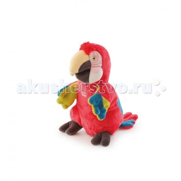 Ролевые игры Trudi Игрушка на руку Попугай 25 см trudi котёнок брэд серо белый 24 см