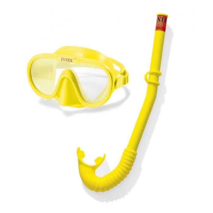 цена на Аксессуары для плавания Intex Набор для плавания Искатель приключений