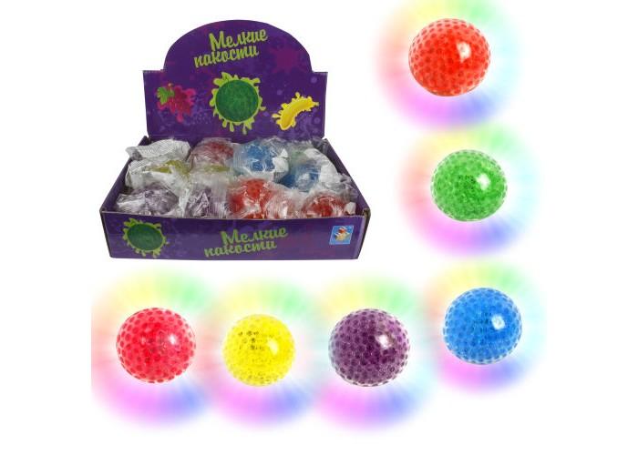 Развивающие игрушки 1 Toy Жмяка с шариками со светом Шар 7 см