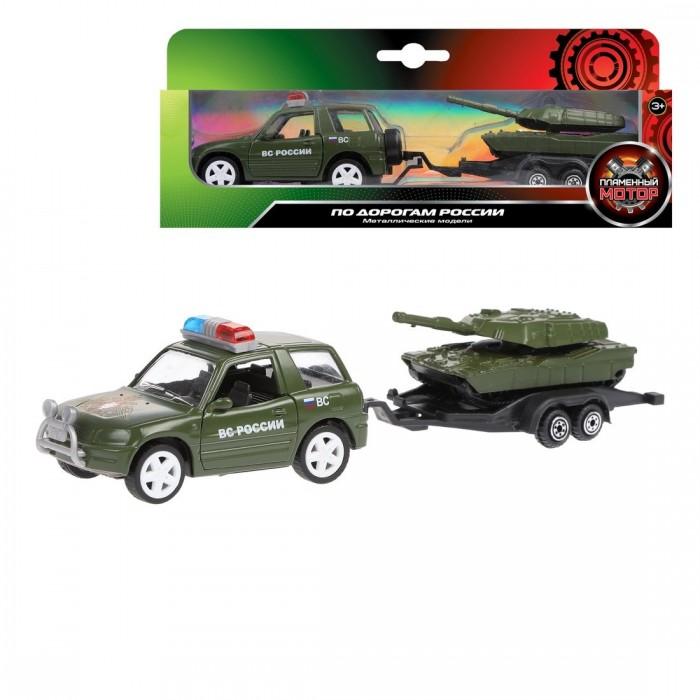 Машины Пламенный мотор Набор машин Вооруженные силы джип и танк