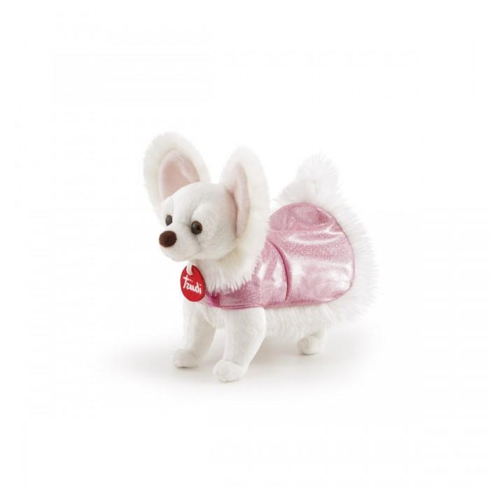 Купить Мягкие игрушки, Мягкая игрушка Trudi Чихуахуа в розовом платье 23 см
