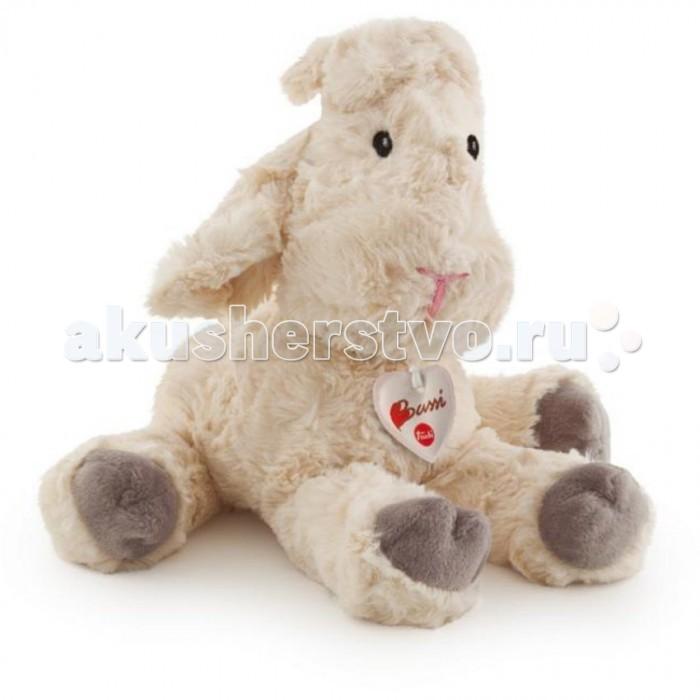 Мягкие игрушки Trudi Белая мягкая овечка 38 см мягкие игрушки trudi белый тюлень 58 см