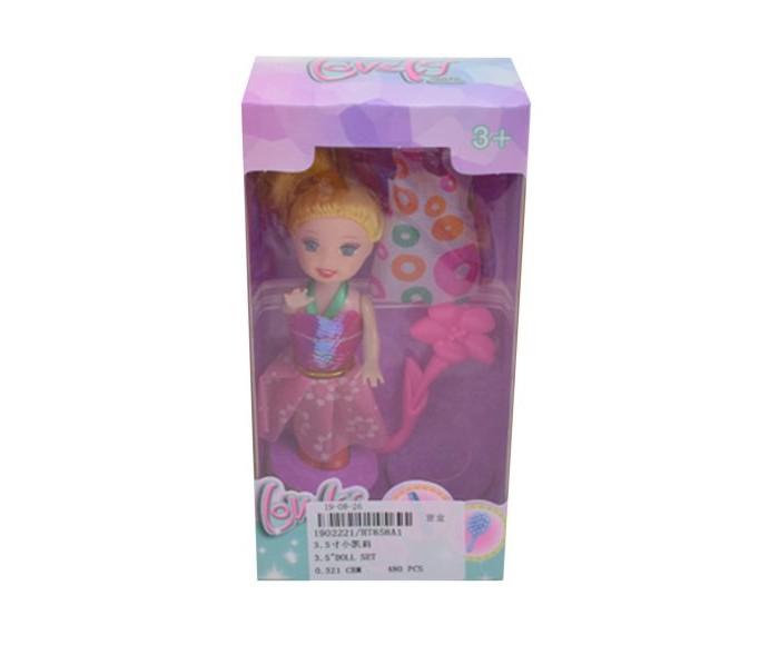 Куклы и одежда для кукол Наша Игрушка Кукла 8,5 см с аксессуарами куклы и одежда для кукол наша игрушка пупс с озвучкой и аксессуарами 30 см
