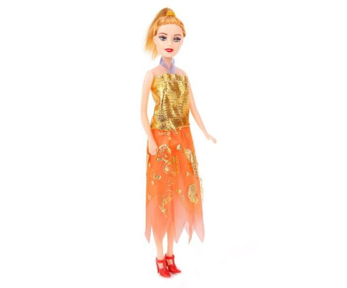 кукла наша игрушка карина в свадебном платье Куклы и одежда для кукол Наша Игрушка Кукла в бальном платье 28 см