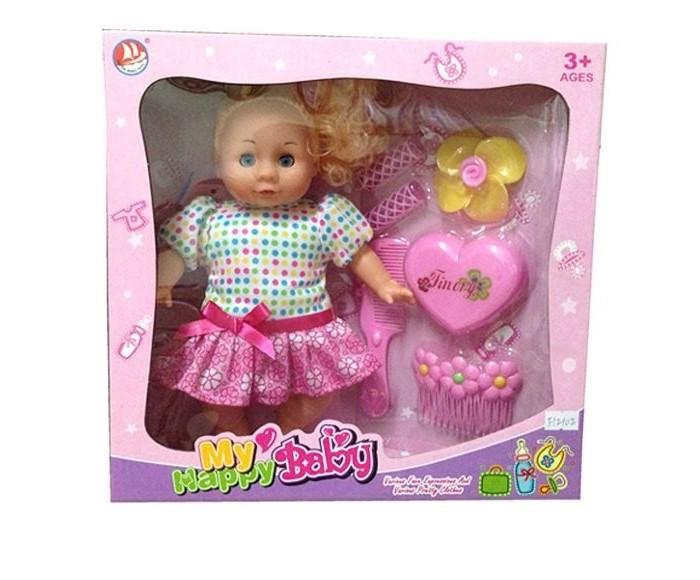 Фото - Куклы и одежда для кукол Наша Игрушка Кукла Вика мягконабивная 28 см с аксессуарами куклы и одежда для кукол miraculous кукла леди баг костюм рисунок 26 см