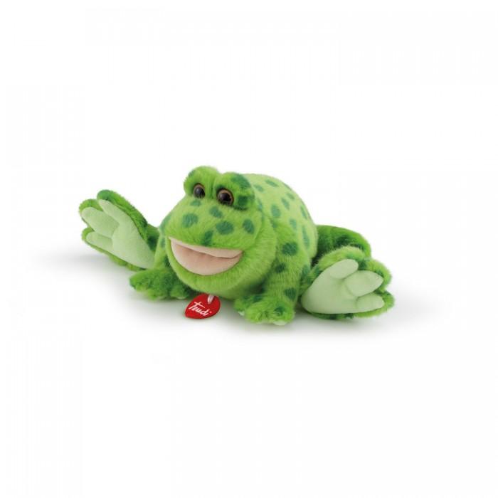 Мягкие игрушки Trudi Лягушка Рита 28x12x16 см