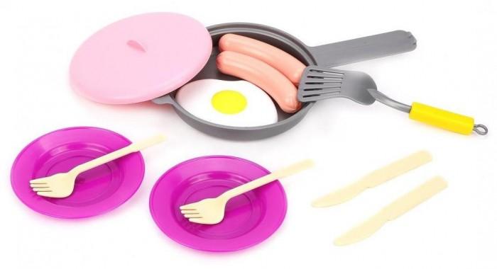 Ролевые игры Совтехстром Детский кухонный набор (11 предметов) ролевые игры совтехстром игровой набор продукты 2 10 предметов