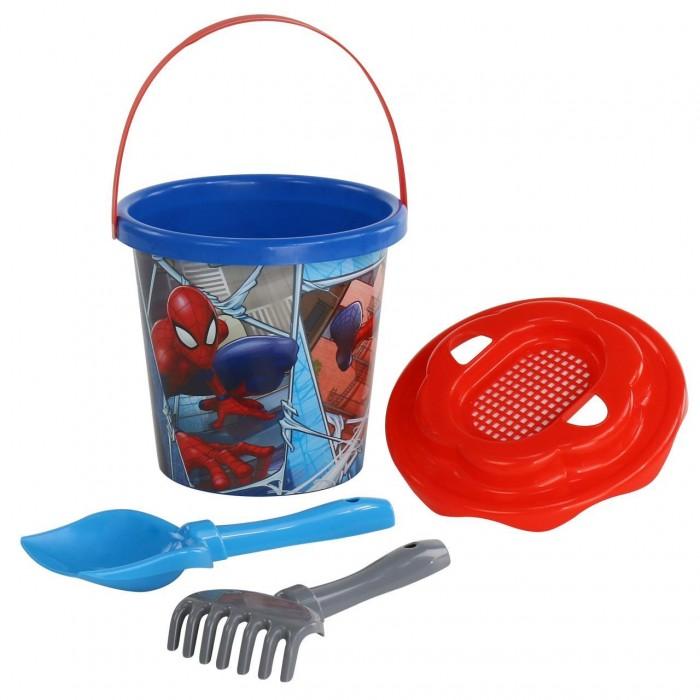 Игрушки в песочницу Полесье Набор для песка Marvel Человек-Паук №11 (4 предмета)