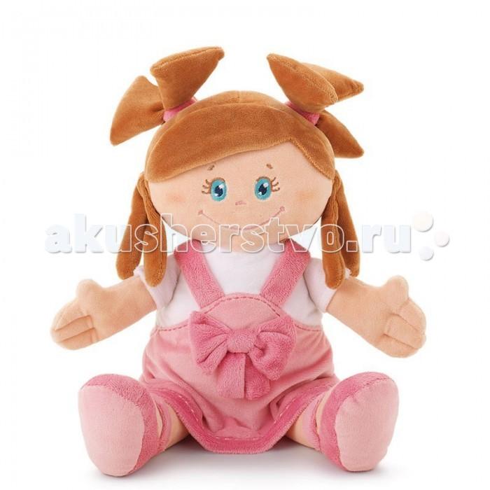 Trudi Мягкая кукла в платье с бантом 40 см