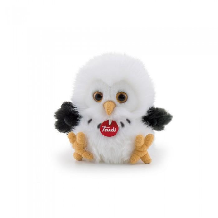 Купить Мягкие игрушки, Мягкая игрушка Trudi Сова-пушистик 14×18×16 см