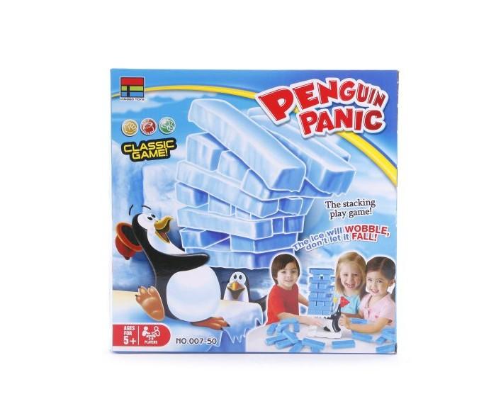Настольные игры Наша Игрушка Настольная игра Башня Ловкий пингвин настольные игры наша игрушка настольная игра ловкость волшебный ковер алладина