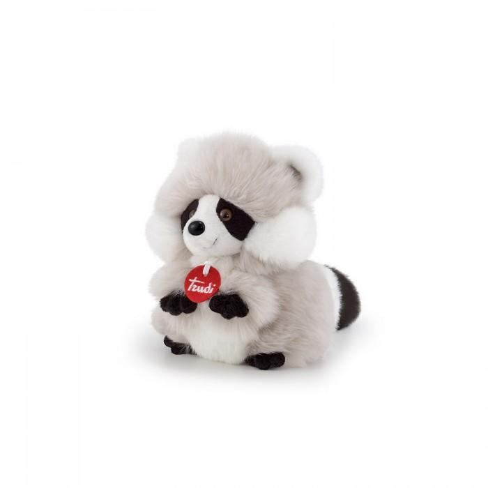 Купить Мягкие игрушки, Мягкая игрушка Trudi Енот-пушистик 14x19x22 см