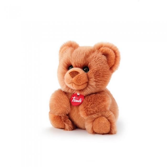 Купить Мягкие игрушки, Мягкая игрушка Trudi Медведь-пушистик 16×х19х13 см