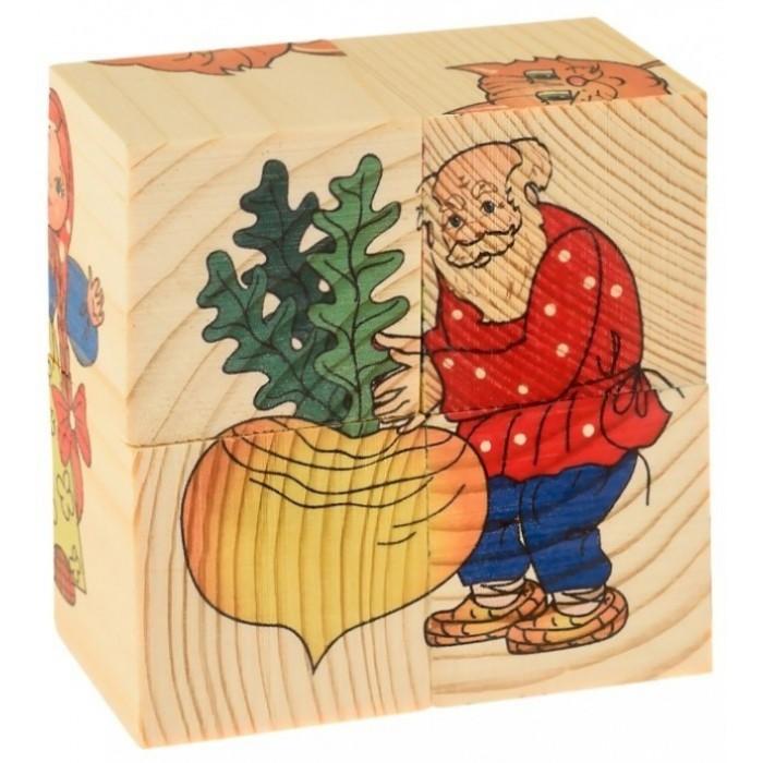 Фото - Деревянные игрушки Русские деревянные игрушки Кубики Репка 4 шт. репка