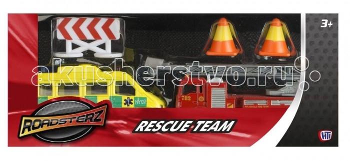 Машины Roadsterz Спасательная команда машины hti машинка roadsterz самосвал бункеровоз