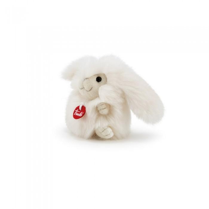 Купить Мягкие игрушки, Мягкая игрушка Trudi Зайчик-пушистик на веревочке 10 см