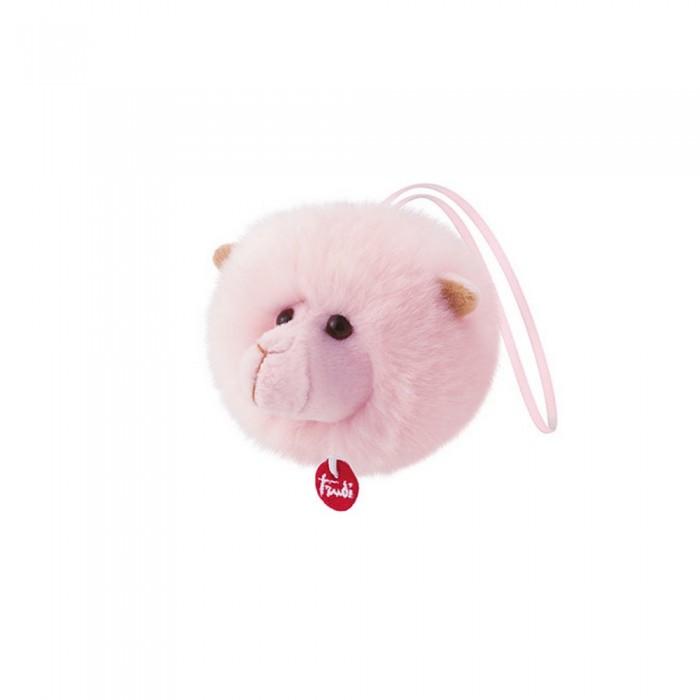 Мягкая игрушка Trudi Лама-пушистик на веревочке 12х10х10 см фото