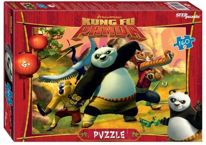 Пазлы Step Puzzle Пазл Кунг-фу Панда (160 деталей) пазл step puzzle park