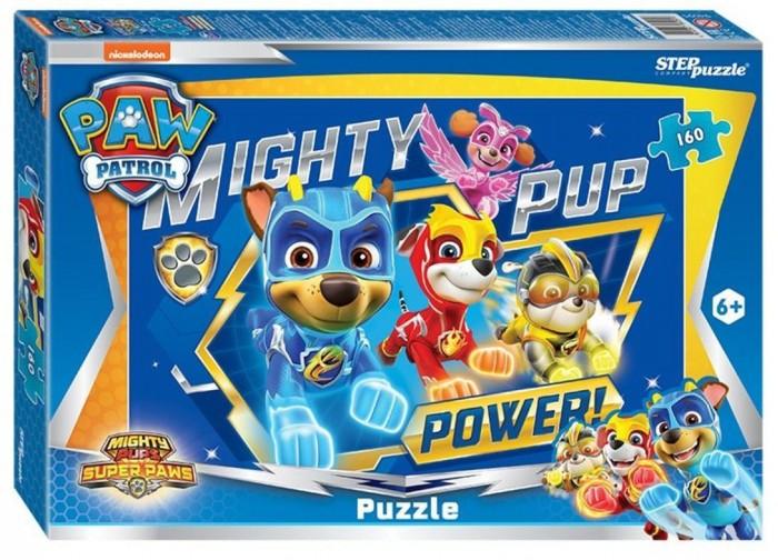 Пазлы Step Puzzle Пазл Щенячий патруль (160 деталей) пазл step puzzle park