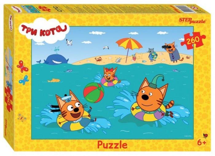 Пазлы Step Puzzle Пазл Три кота (260 деталей) пазл step puzzle park