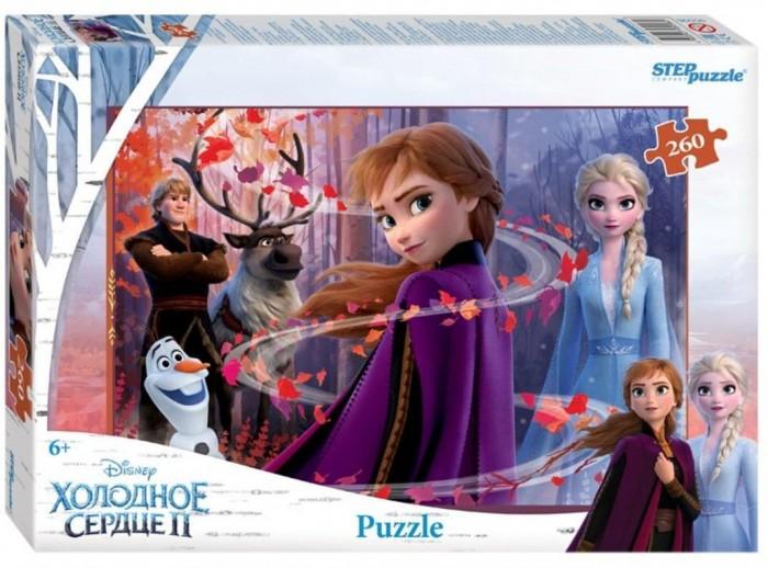 Пазлы Step Puzzle Пазл Холодное сердце-2 (260 деталей) пазл step puzzle park