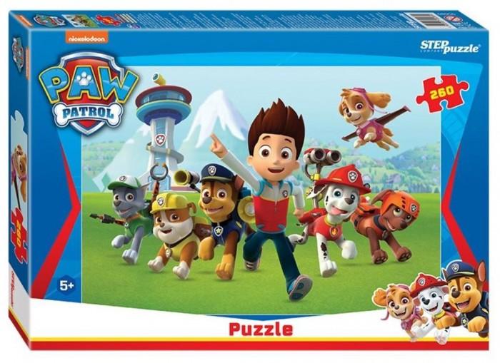 Пазлы Step Puzzle Пазл Щенячий патруль (260 деталей) пазл step puzzle park