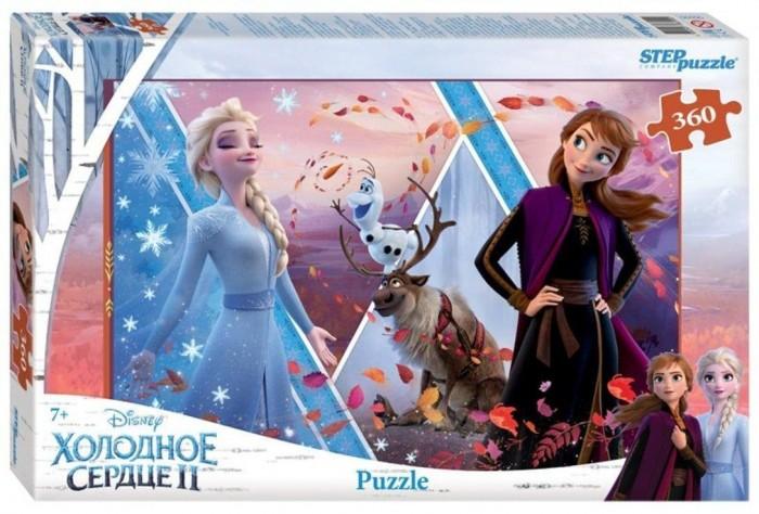 Пазлы Step Puzzle Пазл Холодное сердце-2 (360 деталей) пазл step puzzle park