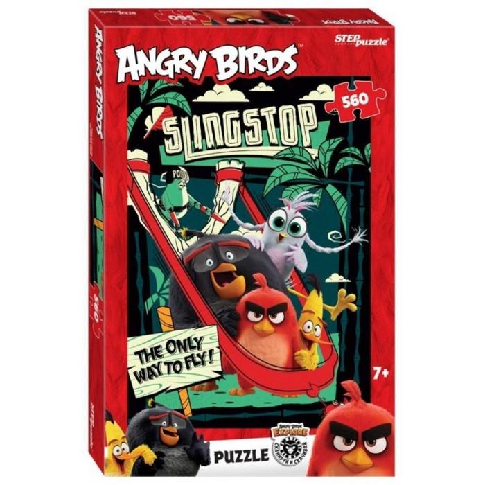 Пазлы Step Puzzle Пазл Angry Birds (560 деталей)