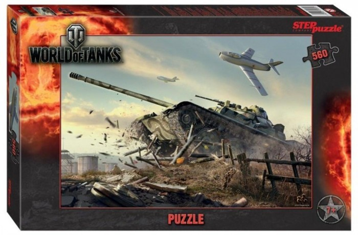 Step Puzzle Пазл World of Tanks (560 деталей)