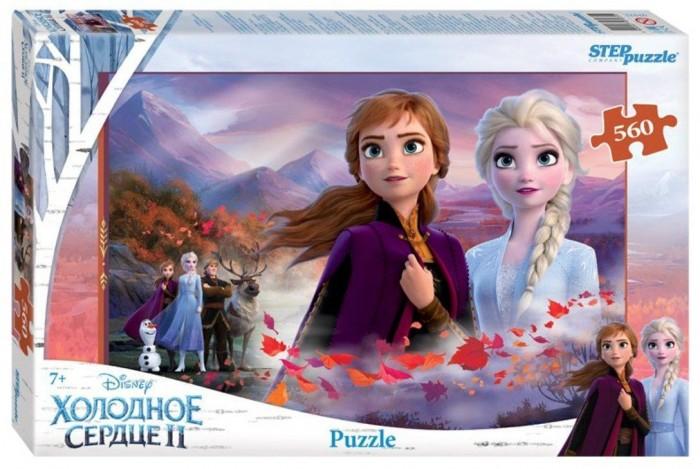 Пазлы Step Puzzle Пазл Холодное сердце-2 (560 деталей) пазл step puzzle park