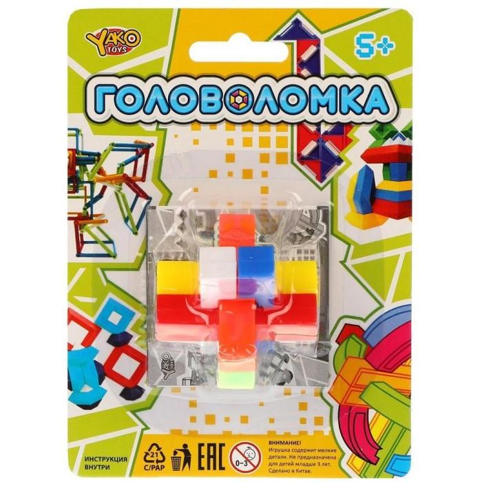 Настольные игры Наша Игрушка Головоломка Бруски настольные игры наша игрушка головоломка звезда