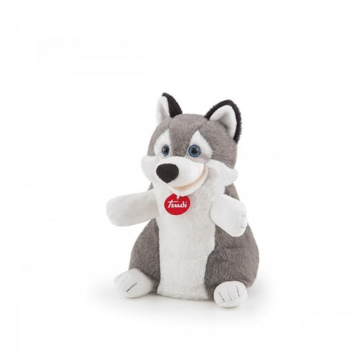 Купить Мягкие игрушки, Мягкая игрушка Trudi Мягкая игрушка на руку Хаски 24 см