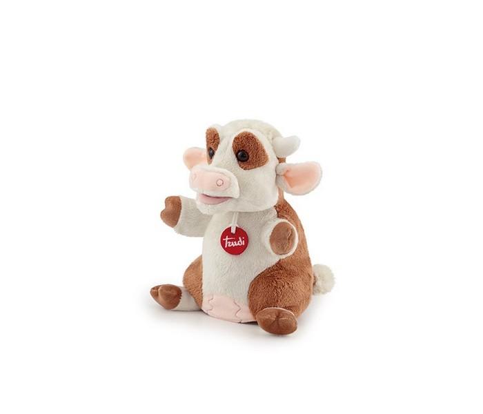 Купить Ролевые игры, Trudi Мягкая игрушка на руку Коровка 18x24x17 см