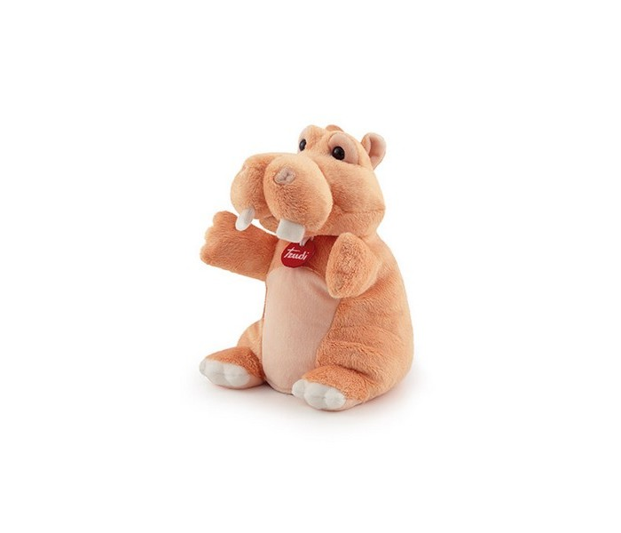 Ролевые игры Trudi Мягкая игрушка на руку Бегемотик 17х27х17 см мягкая игрушка gulliver бегемотик сэм 13 см