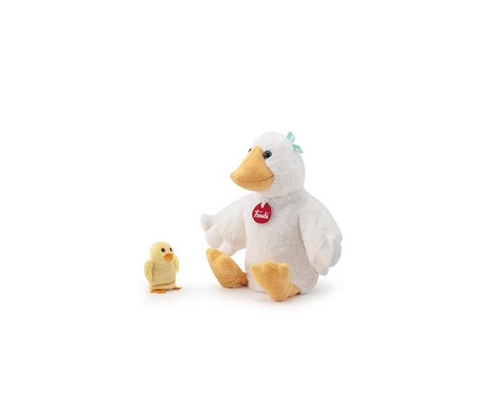 Купить Ролевые игры, Trudi Мягкая игрушка на руку Утка с утенком 15х33х12 см