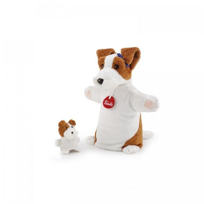 Купить Ролевые игры, Trudi Мягкая игрушка на руку Собачка со щенком 24x27x11 см