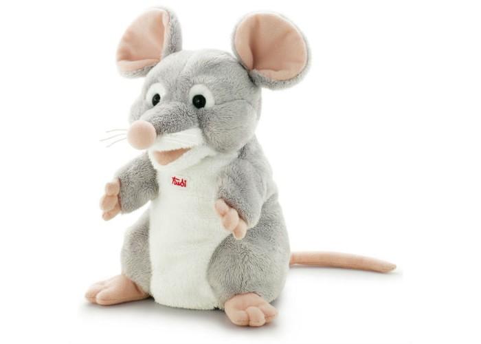 Купить Ролевые игры, Trudi Мягкая игрушка на руку Мышка 26 см