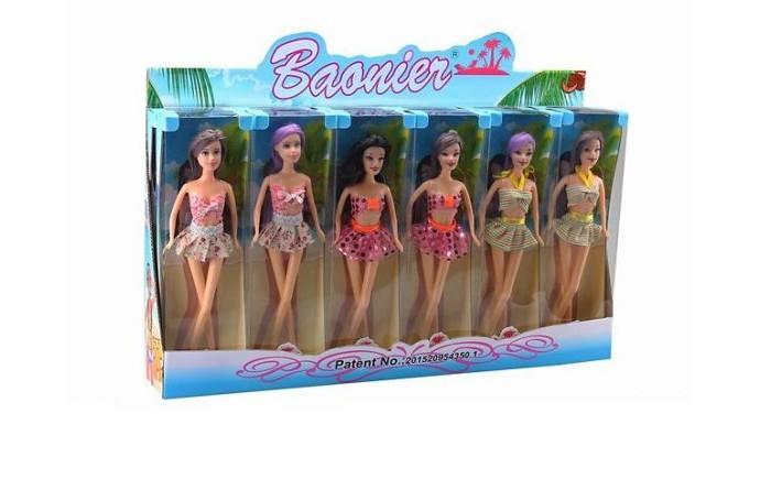 Куклы и одежда для кукол Наша Игрушка Кукла Санни на пляже
