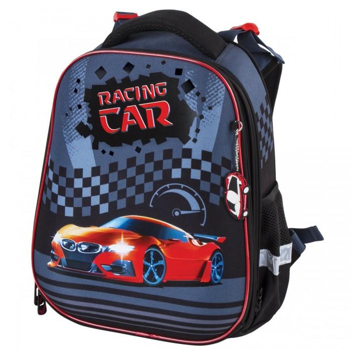Купить Школьные рюкзаки, Brauberg Premium Ранец с брелком Racing car