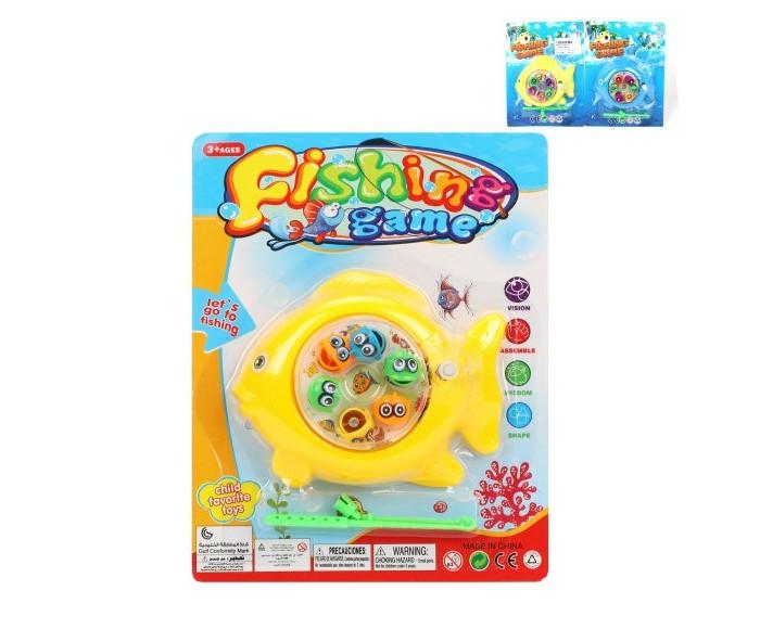 Настольные игры Наша Игрушка Набор Рыбалка 966-9 интерактивная игрушка наша игрушка рыбалка с крючком удочка от 3 лет bw30035 2