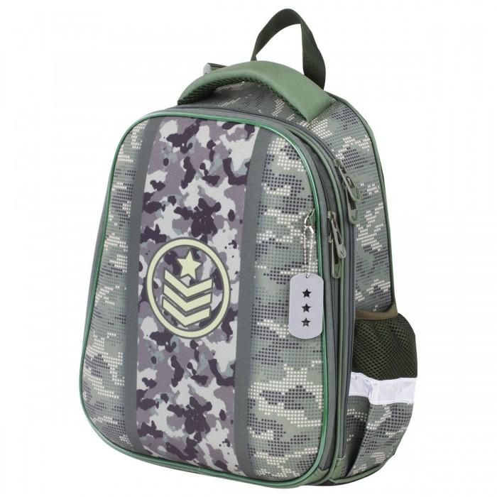 Купить Школьные рюкзаки, Brauberg Premium Ранец с брелком Army