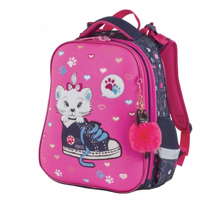 Купить Школьные рюкзаки, Brauberg Premium Ранец с брелком Kitten&sneakers