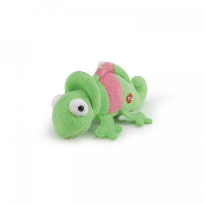 Купить Мягкие игрушки, Мягкая игрушка Trudi Хамелеон 9 см