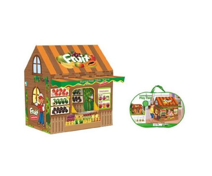 Купить Палатки-домики, Наша Игрушка Палатка игровая Фруктовый магазин 110х100х70 см