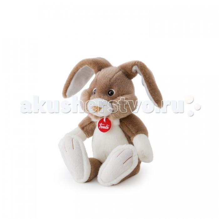 Мягкая игрушка Trudi Серый заяц Роберт 36 см