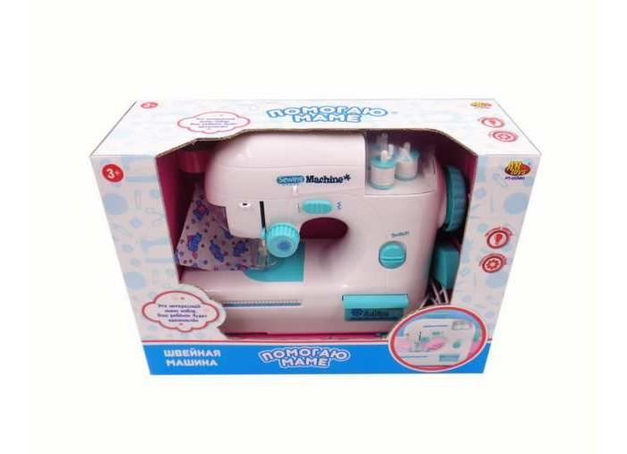 Ролевые игры ABtoys Помогаю маме Швейная машинка электромеханическая