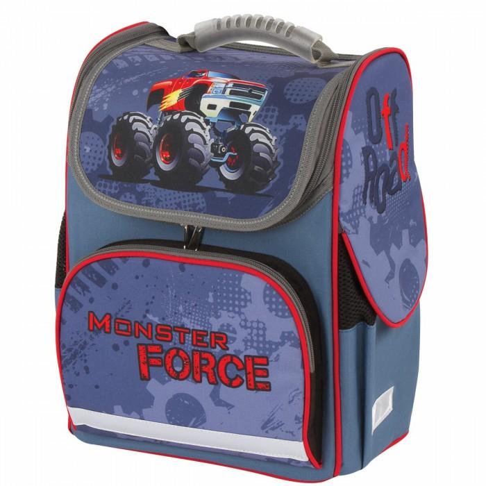 Купить Школьные рюкзаки, Brauberg Style Ранец c эргономичной спинкой Monster Force