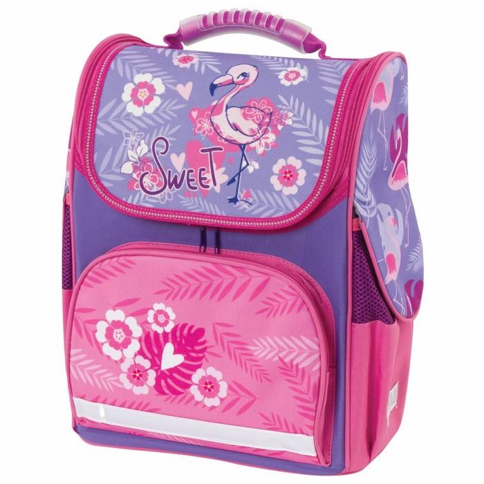 Купить Школьные рюкзаки, Brauberg Style Ранец c эргономичной спинкой Flamingo