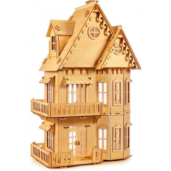Купить Кукольные домики и мебель, Теремок Кукольный домик сборный КД-1