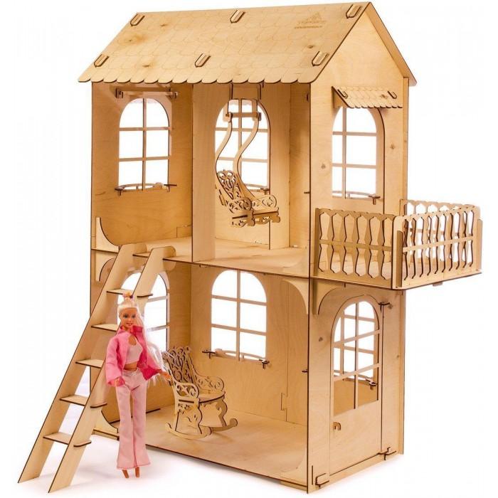 Теремок Кукольный дом средний конструктор